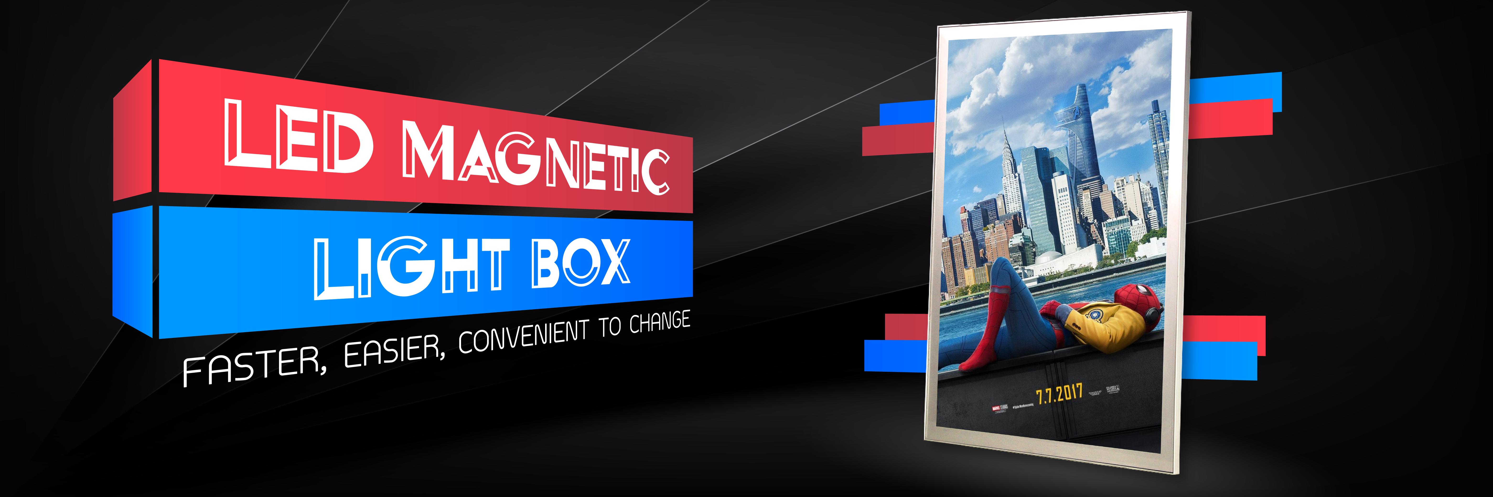 Led Magnetic Light Box Malaysia Signage